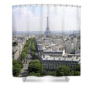 Paris01 Shower Curtain