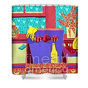 Parish Kitchen Shower Curtain