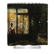 Parisian Boulevard At Night Shower Curtain
