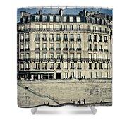 Parisian Building Shower Curtain