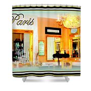 Parisian Salon Shower Curtain