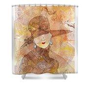 Parisienne 1930 Shower Curtain
