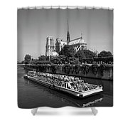 Paris,notre Dame  Shower Curtain