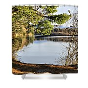 Park And View Shower Curtain