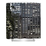 Park Avenue Met Life Nyc Shower Curtain by Juergen Held