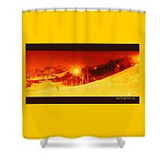Park City Gold Shower Curtain