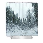 Park City Utah  Shower Curtain