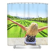 Park Eduardo Vii Lisbon Shower Curtain