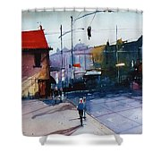 Park St Alameda Shower Curtain