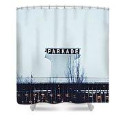 Parkade - Downtown Spokane Shower Curtain
