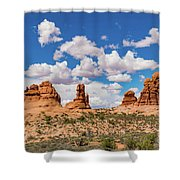 Arches Park National  Shower Curtain