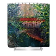 Parke County Shower Curtain