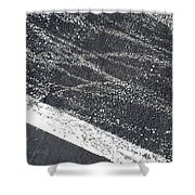 Parking Lot 5 Shower Curtain