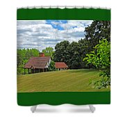 Parkland Cottage Shower Curtain