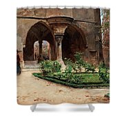 Parkland In Paris Shower Curtain