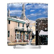 Parkville In Winter Shower Curtain