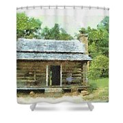 Parkway Cabin Shower Curtain