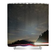 Parkway Lights Shower Curtain