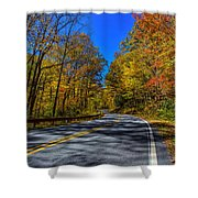 Parkway Road Nc Shower Curtain