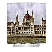 Parliment - Budapest Shower Curtain