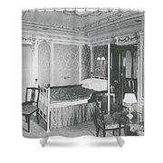 Parlour Suite Of Titanic Ship Shower Curtain