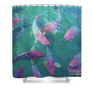 Parrotfish Of The Keys Shower Curtain