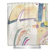 Parrothead  Shower Curtain