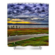 Parrsboro Dawn Shower Curtain