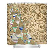 Part Of The Tree Of Life, Part 2 Shower Curtain
