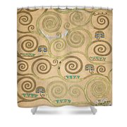 Part Of The Tree Of Life, Part 3 Shower Curtain