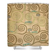 Part Of The Tree Of Life, Part 5 Shower Curtain