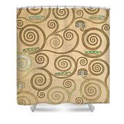 Part Of The Tree Of Life, Part 7 Shower Curtain