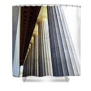 Parthenon Nashville 3 Shower Curtain