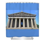 Parthenon Nashville 5 Shower Curtain