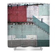 Partial Demolition  Shower Curtain