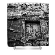 Partly Covered - Venice Shower Curtain