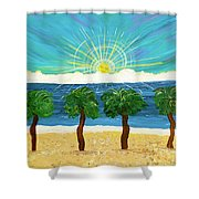 Partners In Shine Shower Curtain