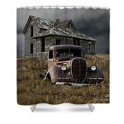 Partners In Time Shower Curtain