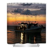 Party Boat Shower Curtain