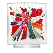 Party Bouquet IIi Pf Shower Curtain