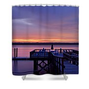 Party Dock Shower Curtain
