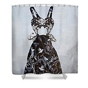 Party Dress Shower Curtain