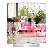 Party Drinks Shower Curtain