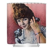 Party Line Shower Curtain