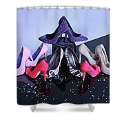 Party Shoes Shower Curtain