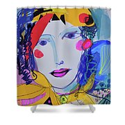 Party Time Collage Shower Curtain