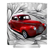 Party Time Red Shower Curtain