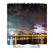 Party Town Shower Curtain