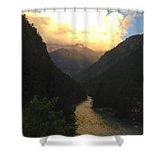 Parvati River Shower Curtain