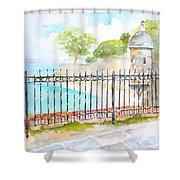 Paseo De La Princesa Puerto Rico Shower Curtain